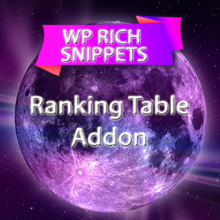 WP Rich Snippets Ranking Table Addon