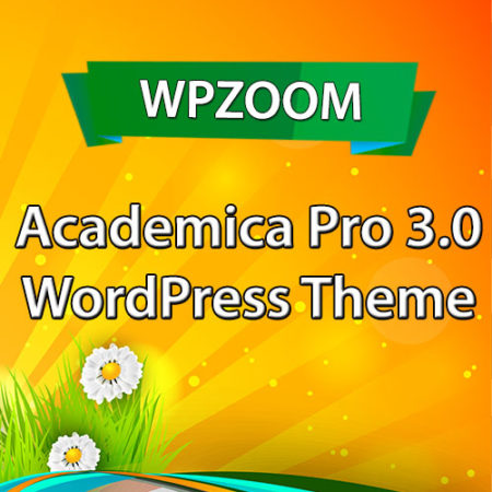 WPZoom Academica Pro 3.0 WordPress Theme