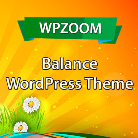 WPZoom Balance WordPress Theme