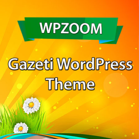 WPZoom Gazeti WordPress Theme