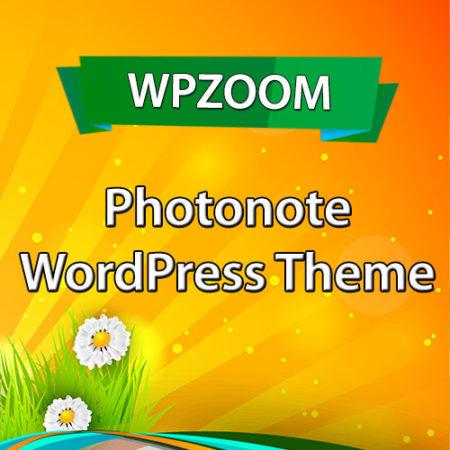 WPZoom Photonote WordPress Theme