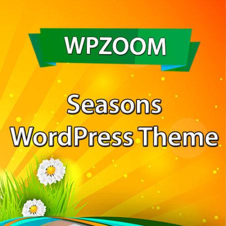 WPZoom Seasons WordPress Theme