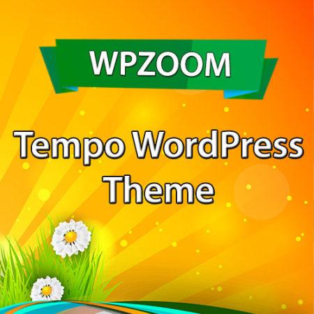WPZoom Tempo WordPress Theme