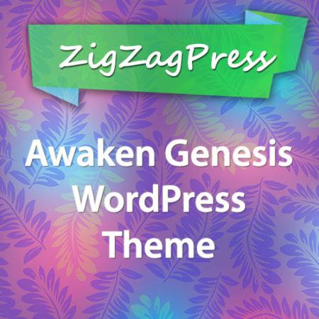 ZigZagPress Awaken Genesis WordPress Theme