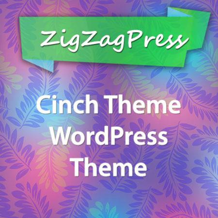 ZigZagPress Cinch Theme WordPress Theme