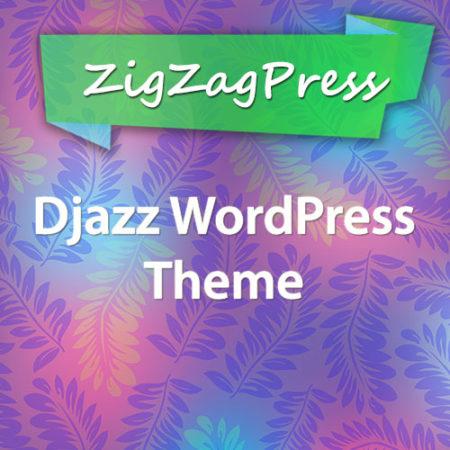 ZigZagPress Djazz WordPress Theme