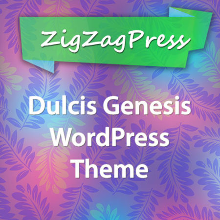 ZigZagPress Dulcis Genesis WordPress Theme