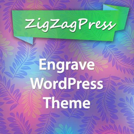 ZigZagPress Engrave WordPress Theme