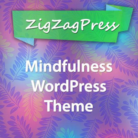 ZigZagPress Mindfulness WordPress Theme