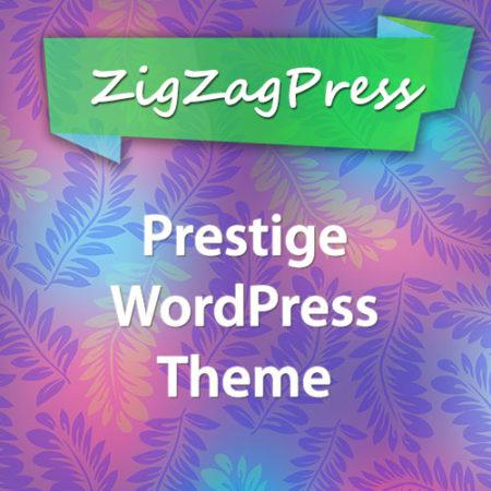 ZigZagPress Prestige WordPress Theme