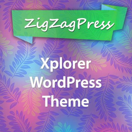 ZigZagPress Xplorer WordPress Theme