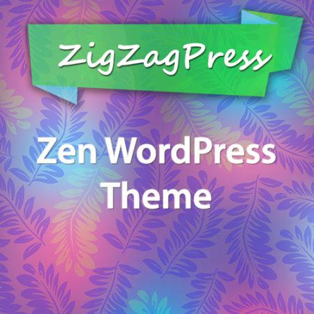 ZigZagPress Zen WordPress Theme