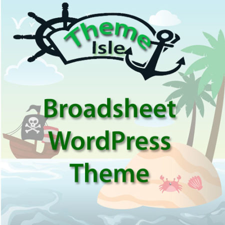 ThemeIsle Broadsheet WordPress Theme