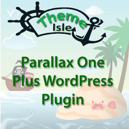 ThemeIsle Parallax One Plus WordPress Plugin