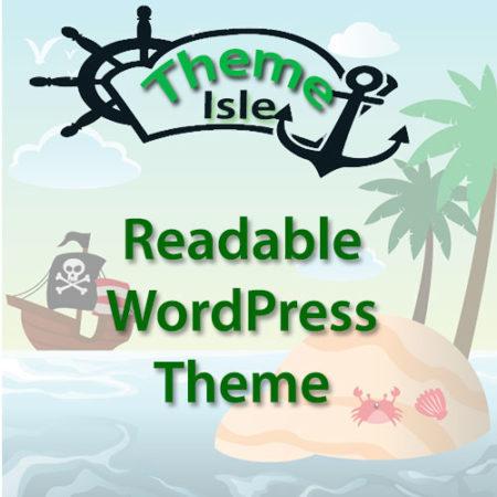 ThemeIsle Readable WordPress Theme