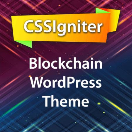 CSSIgniter Blockchain WordPress Theme