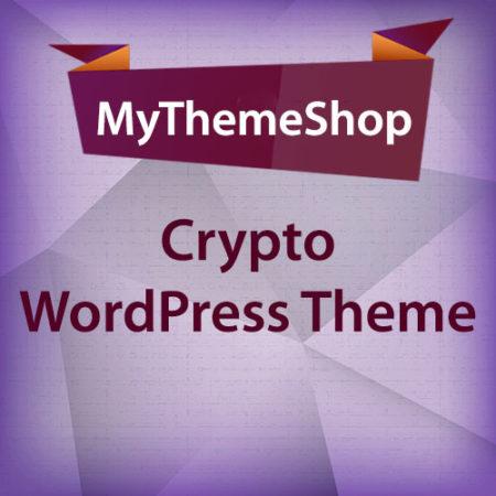 MyThemeShop Crypto WordPress Theme