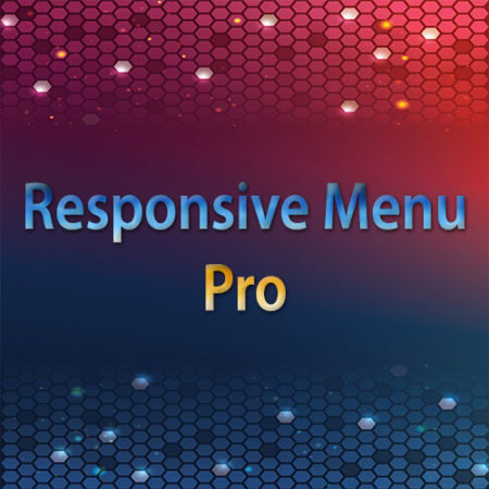 Responsive Menu Pro WordPress Plugin