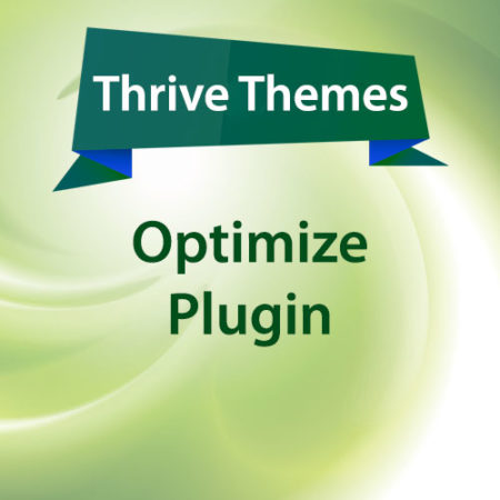 Thrive Themes Optimize Plugin