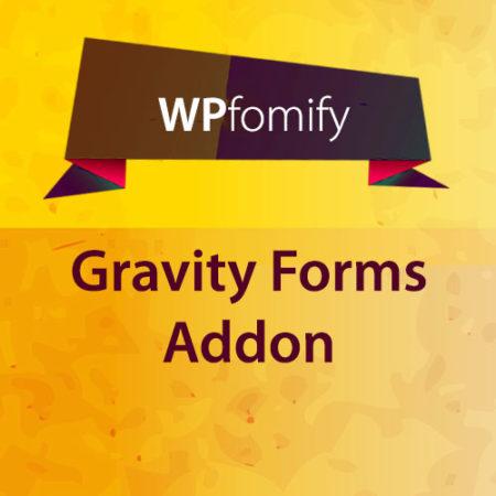 WPfomify Gravity Forms Addon