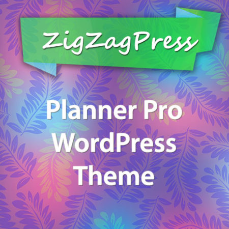 ZigZagPress Planner Pro Genesis WordPress Theme