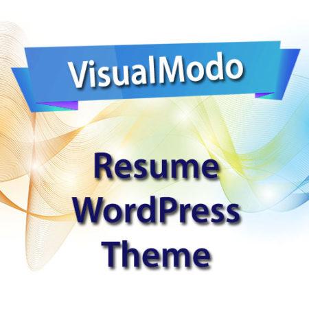 VisualModo Resume WordPress Theme