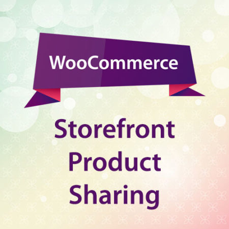 WooCommerce Storefront Product Sharing