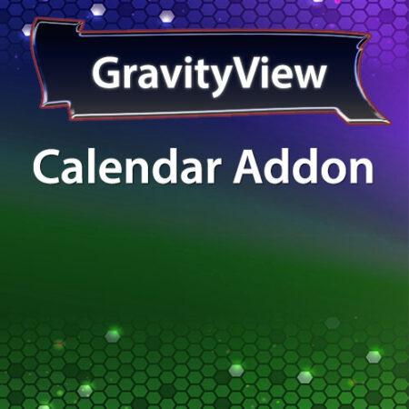 GravityView Calendar Addon