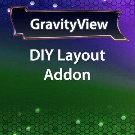 GravityView DIY Layout Addon