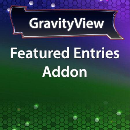 GravityView Featured Entries Addon