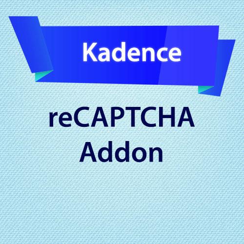 Kadence reCAPTCHA Addon